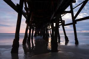 Pier in the Pacific Ocean, San Clemente Pier, San Clemente, California, USA