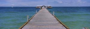 Pier in the Sea, Anna Maria City Pier, Anna Maria, Anna Maria Island, Manatee, Florida, USA