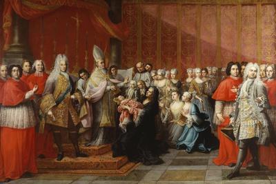 The Baptism of Prince Charles Edward Stewart (1720-88), 1722-35