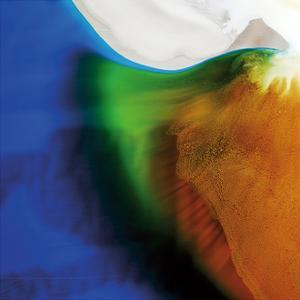 Blue, Green, and Orange Flow, c.2008 by Pier Mahieu