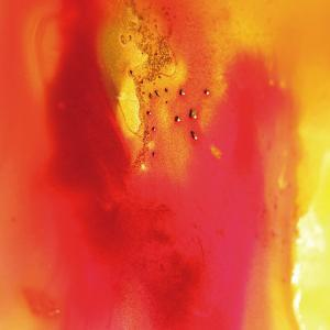 Red and Orange Swirling Abstract, c.2008 by Pier Mahieu
