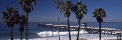 Pier over an Ocean, San Clemente Pier, Los Angeles County, California, USA