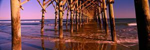 Pier over the Ocean, Folly Beach Fishing Pier, Folly Beach, Folly Island, Charleston County