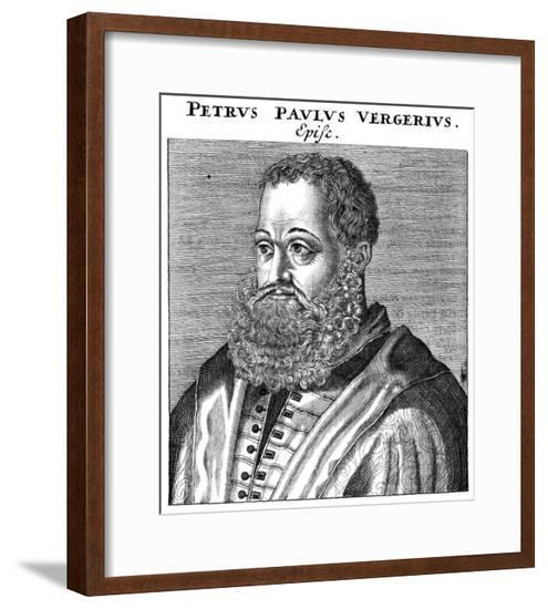 Pier Paolo Vergerio--Framed Giclee Print