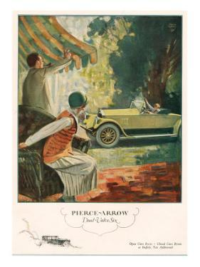 Pierce Arrow, Magazine Advertisement, USA, 1925