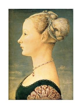 Portrait of a Woman, Second Half of the 15th C by Piero del Pollaiuolo