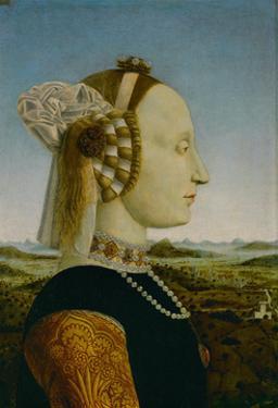 Battista Sforza, Duchess of Urbino by Piero Della Francesca