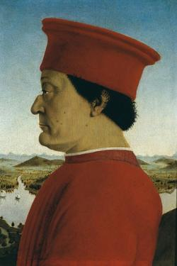 Duke of Urbino, Battista Sforza by Piero della Francesca