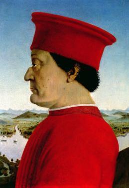 Federigo Da Montefeltro Duke of Urbino, circa 1465 by Piero della Francesca