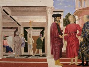 Flagellation of Christ by Piero della Francesca