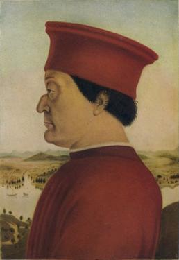Fredrigo Di Montefeltro, Duke of Urbino, c1465. (1914) by Piero Della Francesca