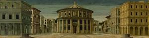 Ideal City, named the City of God. by Piero Della Francesca