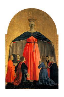 Madonna Della Misericordia (Madonna of Merc), Ca 1460 by Piero della Francesca