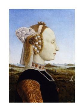 Portrait of the Duchess of Urbino, Battista Sforza by Piero della Francesca