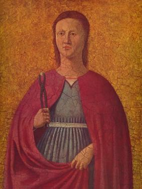 'Saint Apollonia', c1455-1460 by Piero Della Francesca