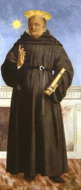 Saint Nicholas of Tolentino, 1454-1459 by Piero della Francesca