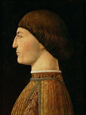 Sigismondo Malatesta by Piero della Francesca