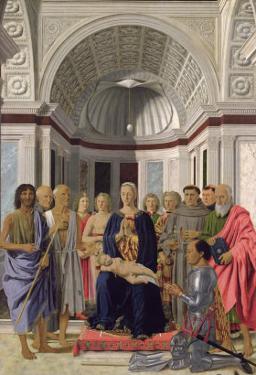 The Brera Altarpiece, 1472-74 by Piero della Francesca