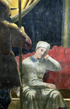The Dream of Constantine, Completed 1464 by Piero della Francesca