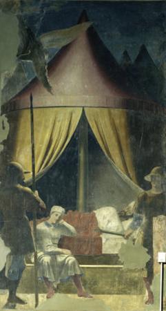 The Dream of Constantine by Piero della Francesca