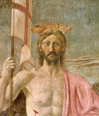 The Resurrection, Detail of Christ, C.1463