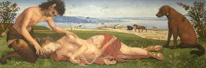 A Satyr Mourning over a Nymph, C. 1495 by Piero di Cosimo