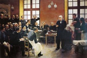 A Clinical Lesson with Doctor Charcot at the Salpetriere, 1887 by Pierre Andre Brouillet