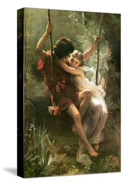 Springtime by Pierre-Auguste Cot