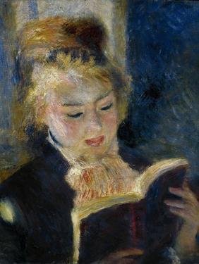 A Girl Reading (La Liseus) by Pierre-Auguste Renoir