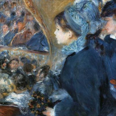 À l'opéra by Pierre-Auguste Renoir