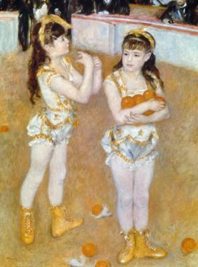 Acrobats at the Cirque Fernando, 1879 by Pierre-Auguste Renoir
