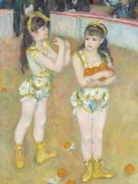 Acrobats at the Cirque Fernando (Francisca and Angelina Wartenberg), 1879 by Pierre-Auguste Renoir
