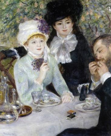 After the Luncheon by Pierre-Auguste Renoir