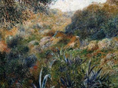 Algerian Landscape: the Ravine De La Femme Savage by Pierre-Auguste Renoir
