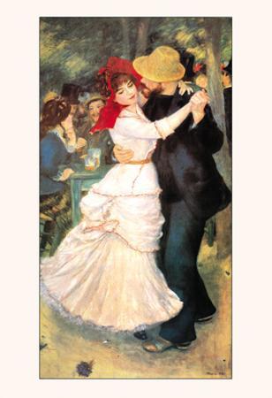 Bal a Bougival by Pierre-Auguste Renoir