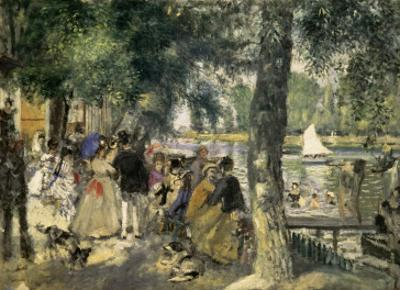 Bathing on the Seine by Pierre-Auguste Renoir