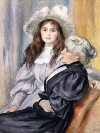 Berthe Morisot and Her Daughter, Julie Manet, 1894 by Pierre-Auguste Renoir