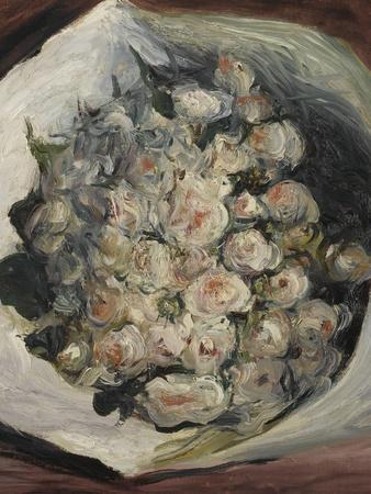 Bouquet dans une loge