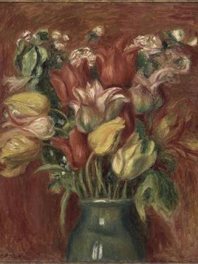 Bouquet de tulipes by Pierre-Auguste Renoir