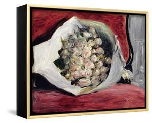 Bouquet in a Theatre Box, C.1878-80 by Pierre-Auguste Renoir