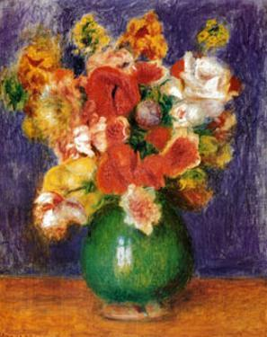 Bouquet by Pierre-Auguste Renoir