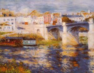 Bridge at Chatou by Pierre-Auguste Renoir