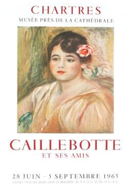 Caillebotte by Pierre-Auguste Renoir