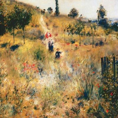 Chemin montant dans les hautes herbes by Pierre-Auguste Renoir