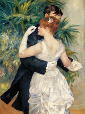 City Dance by Pierre-Auguste Renoir