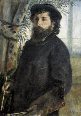 Claude Monet by Pierre-Auguste Renoir