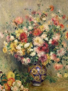 Dahlias by Pierre-Auguste Renoir