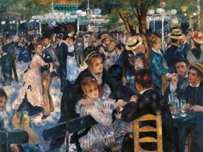 Dance at the Moulin de la Galette by Pierre-Auguste Renoir