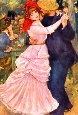 Pierre-Auguste Renoir (Dance in Bougival) Art Poster Print