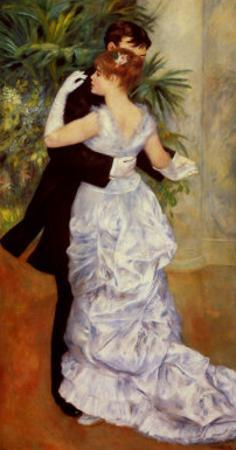 Dance in the City, 1883 by Pierre-Auguste Renoir